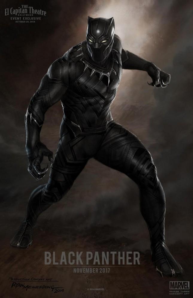 black panther arte conceptual pelicula