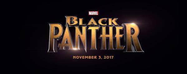 black panther pelicula logo