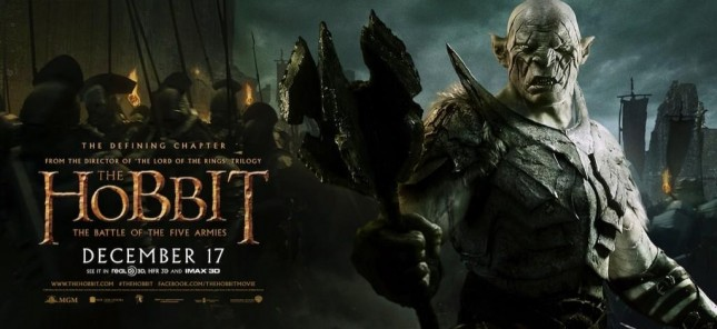 hobbit batalla cinco ejercitos azog