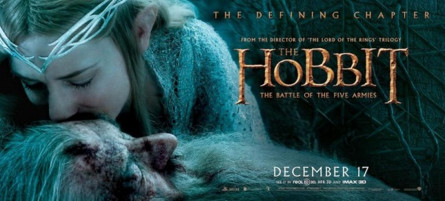 hobbit batalla cinco ejercitos gandalf galadriel