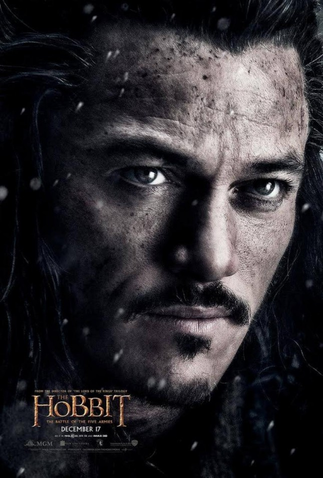 hobbit batalla cinco ejercitos luke evans bard