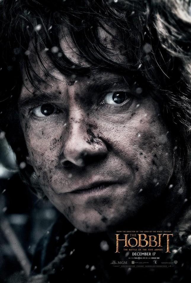 hobbit batalla cinco ejercitos martin freeman bilbo