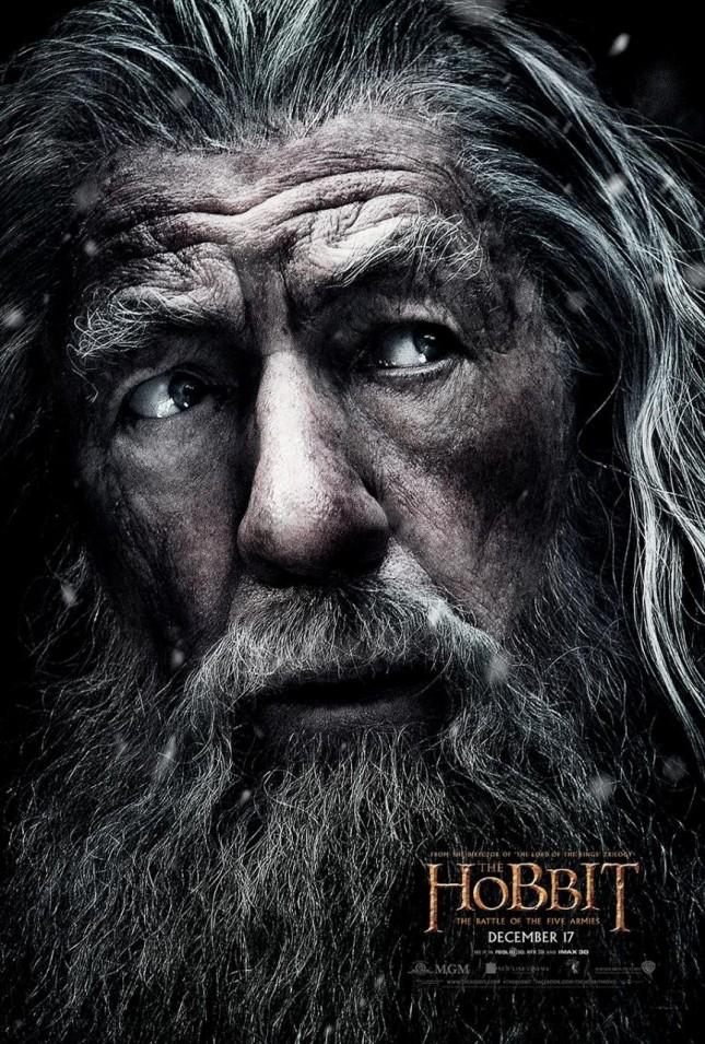 hobbit batalla cinco ejercitos ian mckellen gandalf