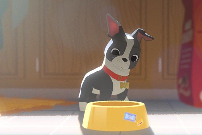 winston perro festin disney