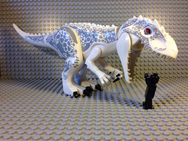 d rex lego juguetes jurassic world