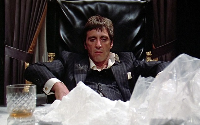scarface al pacino snow