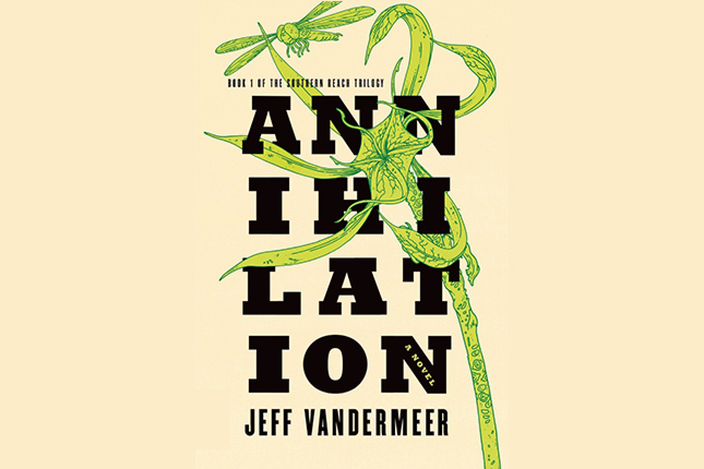 annihilation book cover pelicula
