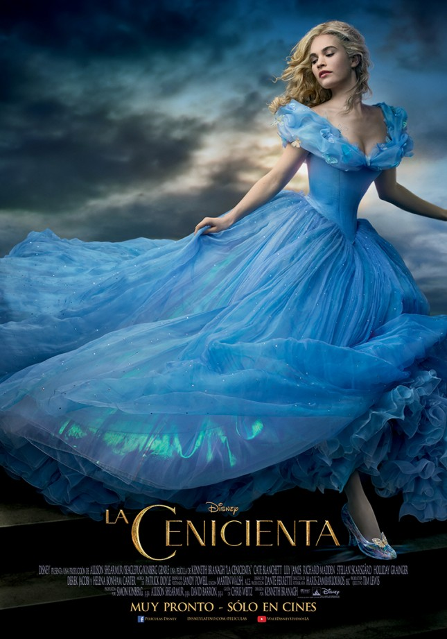 cenicienta poster lily james