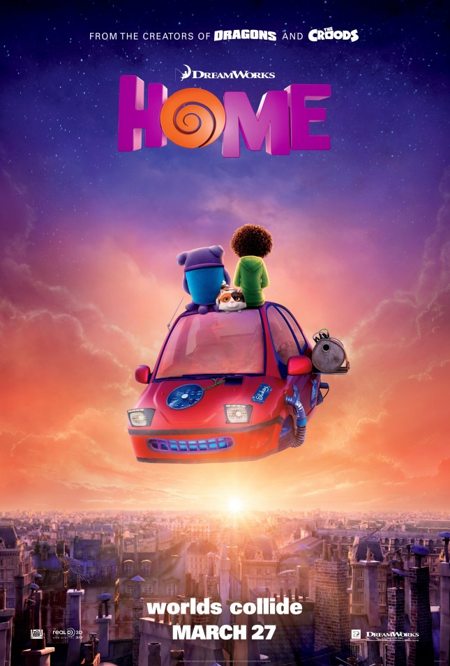 home poster dreamworks