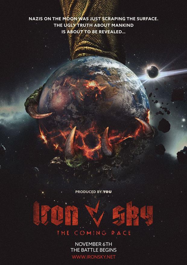 iron sky coming race poster