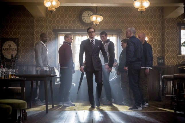 colin firth kingsman servicio secreto