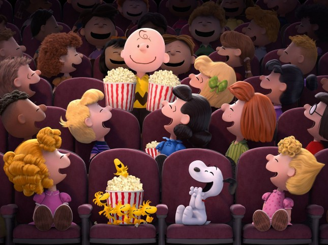 personajes pelicula charlie brown snoopy