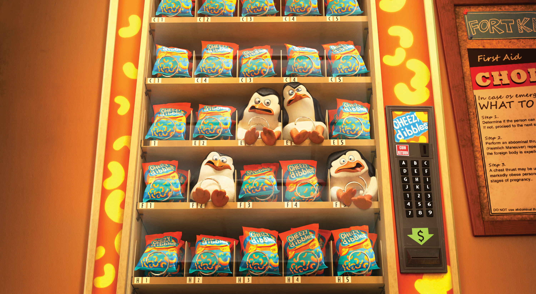 pinguinos madagascar bebes