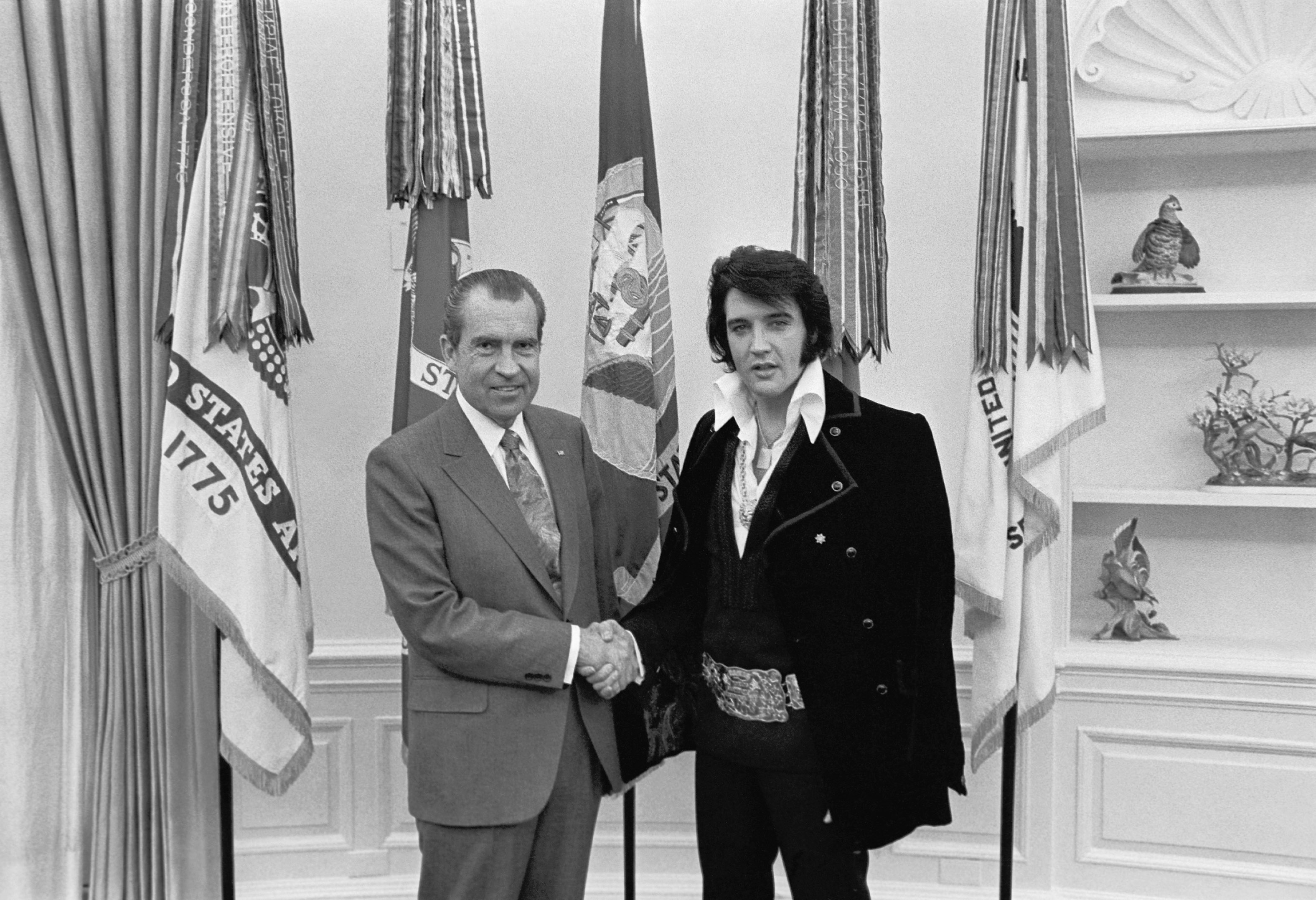 richard nixon elvis presley