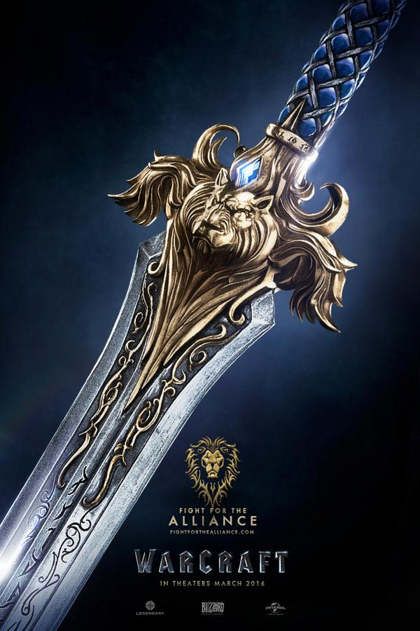 warcraft alianza poster pelicula