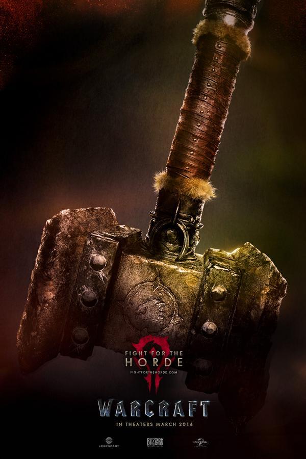 horda warcraft poster pelicula