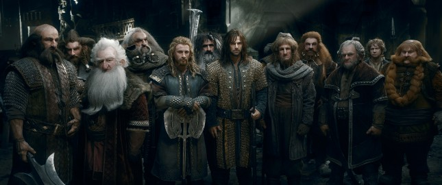 hobbit batalla cinco ejercitos enanos