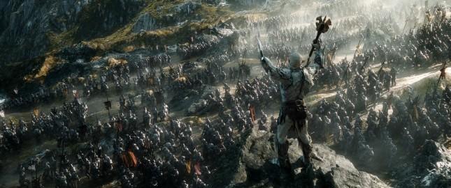 hobbit batalla cinco ejercitos