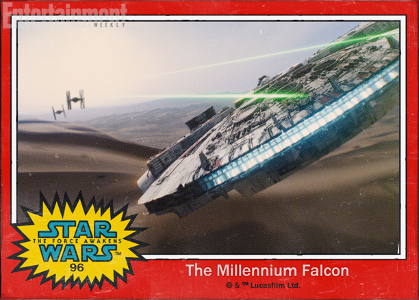 halcon milenario star wars despertar fuerza