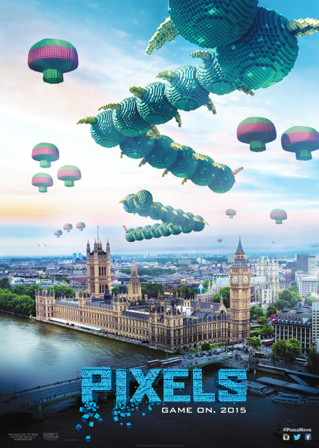 centipede pixels poster