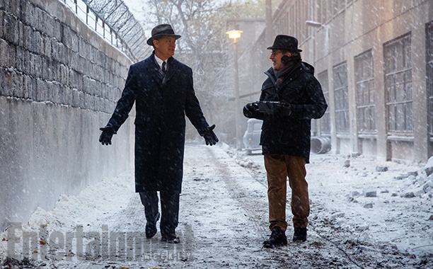 tom hanks steven spielberg set 2014