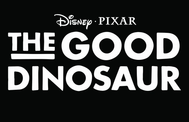 un gran dinosaurio logo en