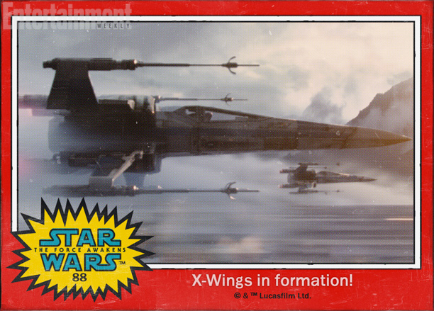 x wings star wars despertar fuerza