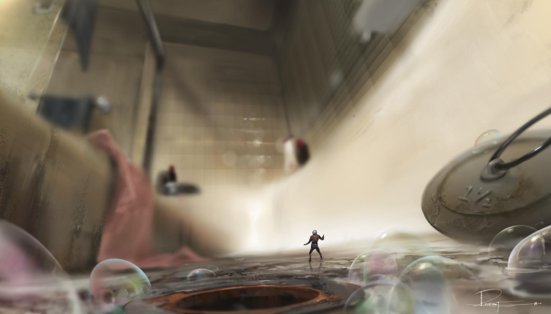 arte conceptual ant man hombre hormiga