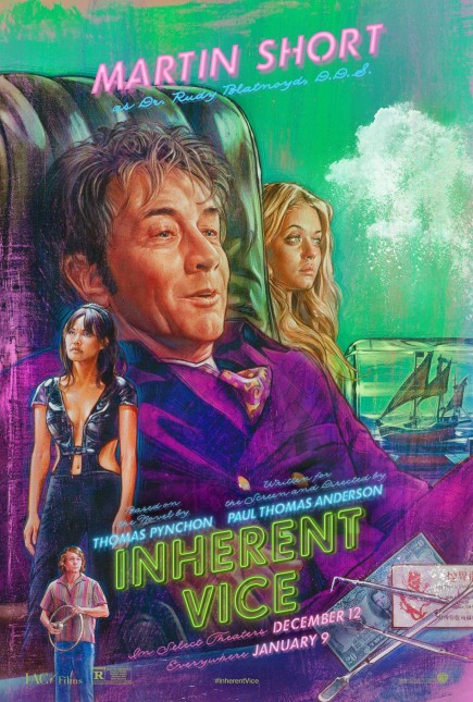 martin short inherent vice poster