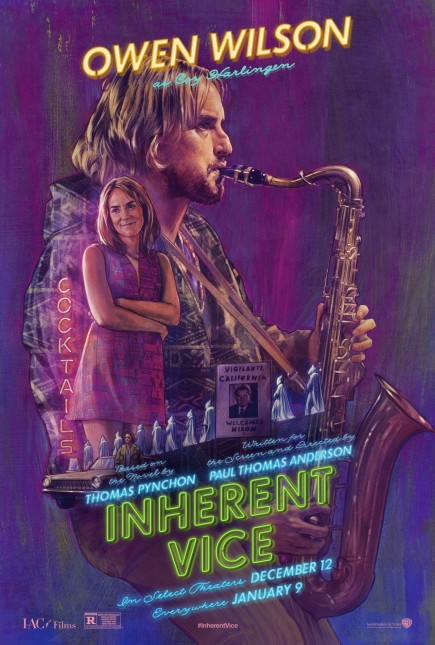 owen wilson inherent vice poster