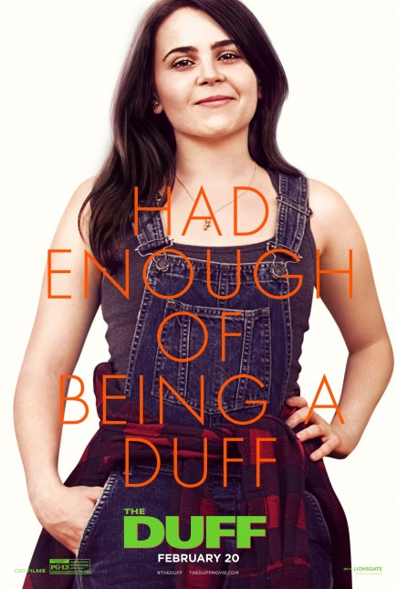 mae whitman poster The Duff