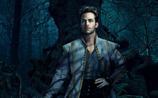 Chris Pine En El Bosque