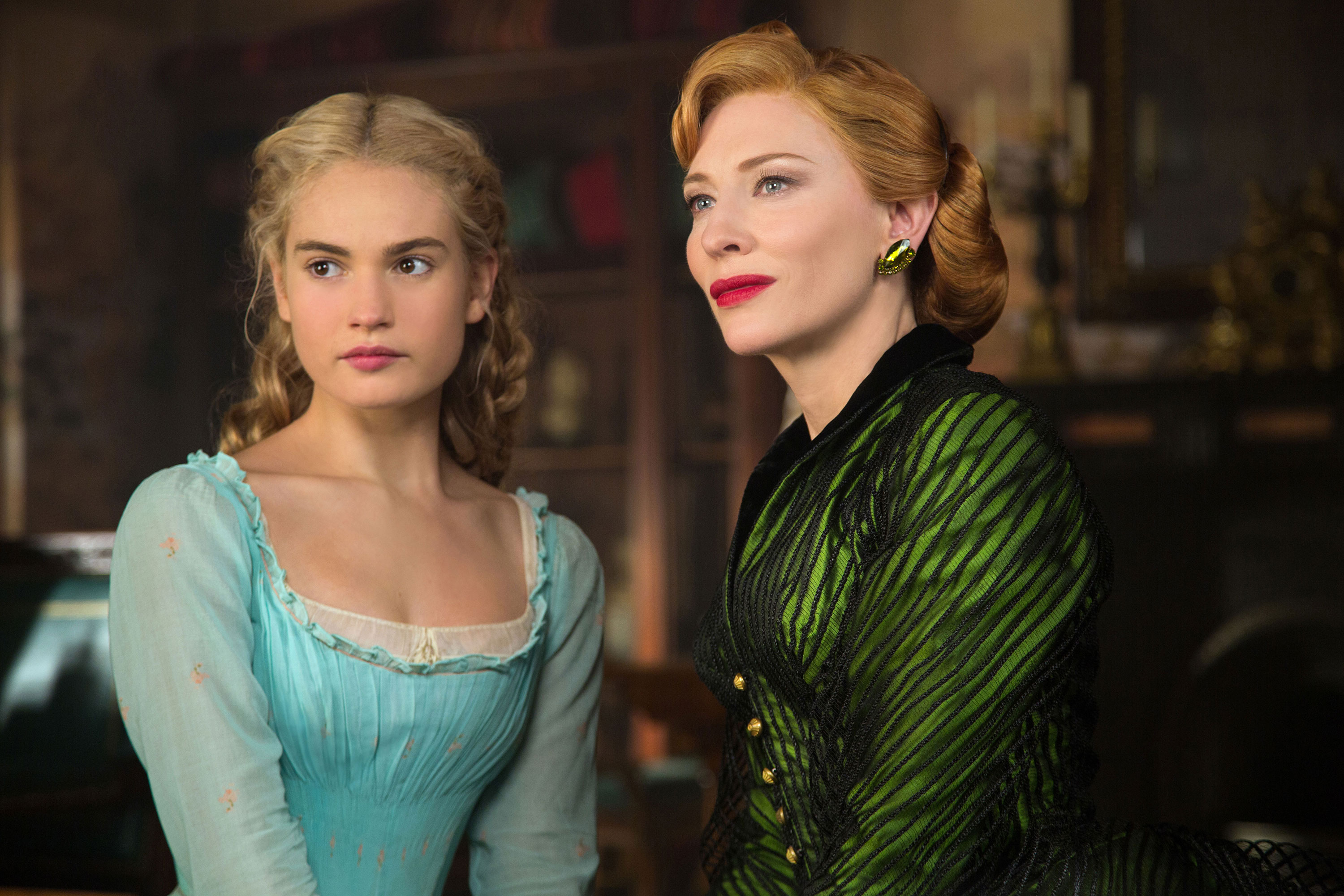 cenicienta lily james cate blanchett
