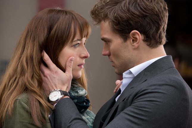 dakota johnson jamie dornan cincuenta sombras grey