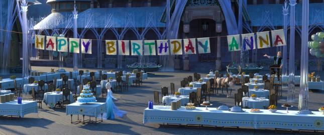 frozen fiebre congelada feliz cumpleaños