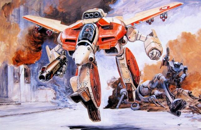 robotech arte
