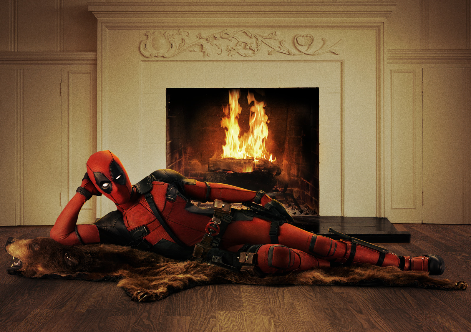 deadpool ryan reynolds traje costume