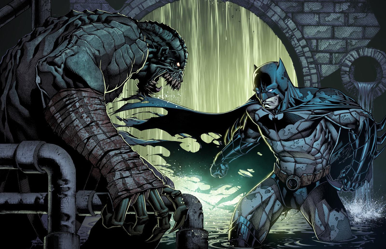 killer croc batman