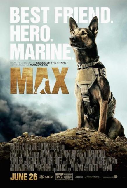 max poster pelicula perro