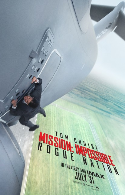 poster mision imposible 5 rogue nation
