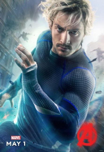 quicksilver aaron taylor johnson poster