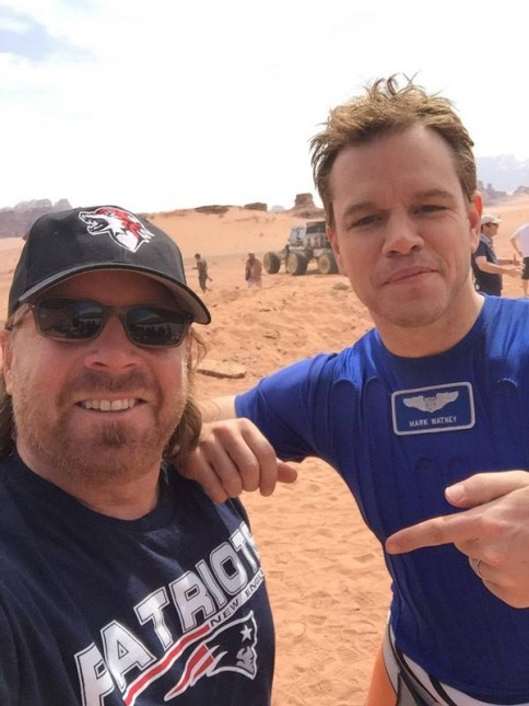 matt damon set the martian