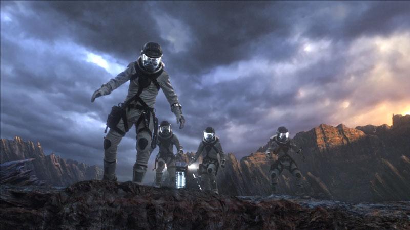 astronautas cuatro fantasticos