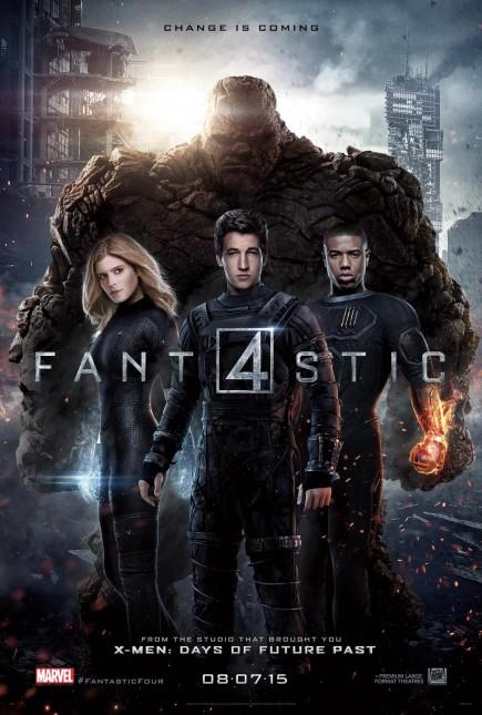 poster los cuatro fantasticos reboot