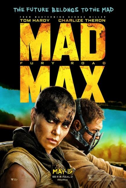 mad max furia en el camino poster