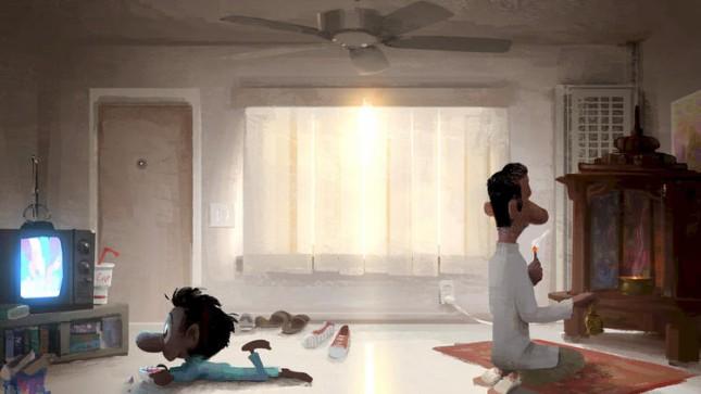 sanjays super team arte conceptual