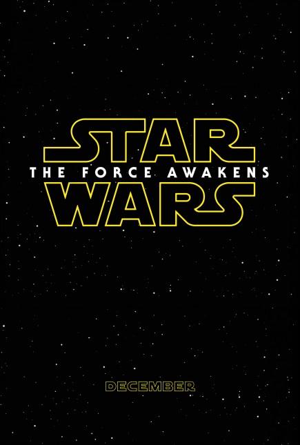 star wars despertar de la fuerza poster