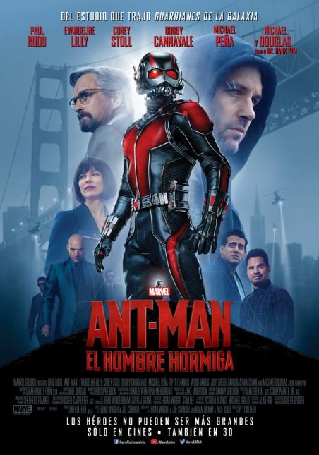 poster ant-man hombre hormiga