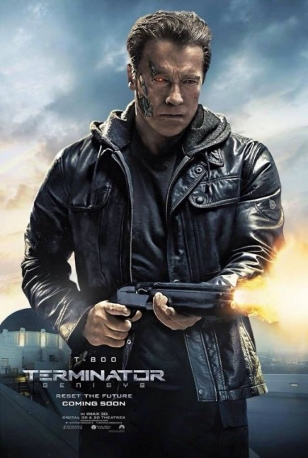 arnold schwarzenegger poster terminator genesis