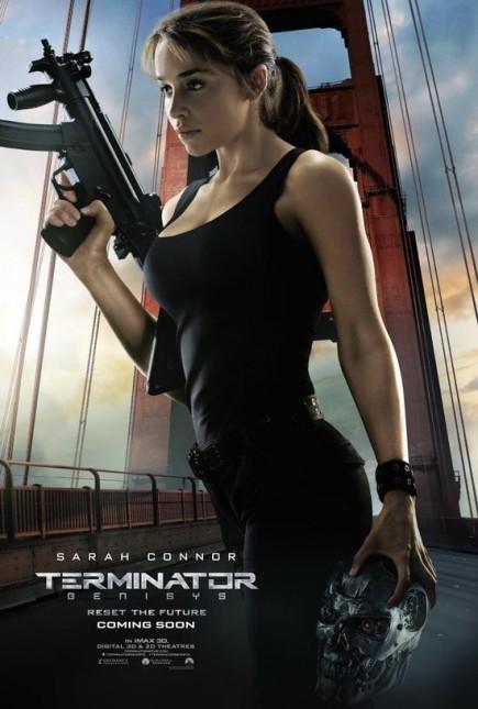 emilia clarke poster terminator genesis